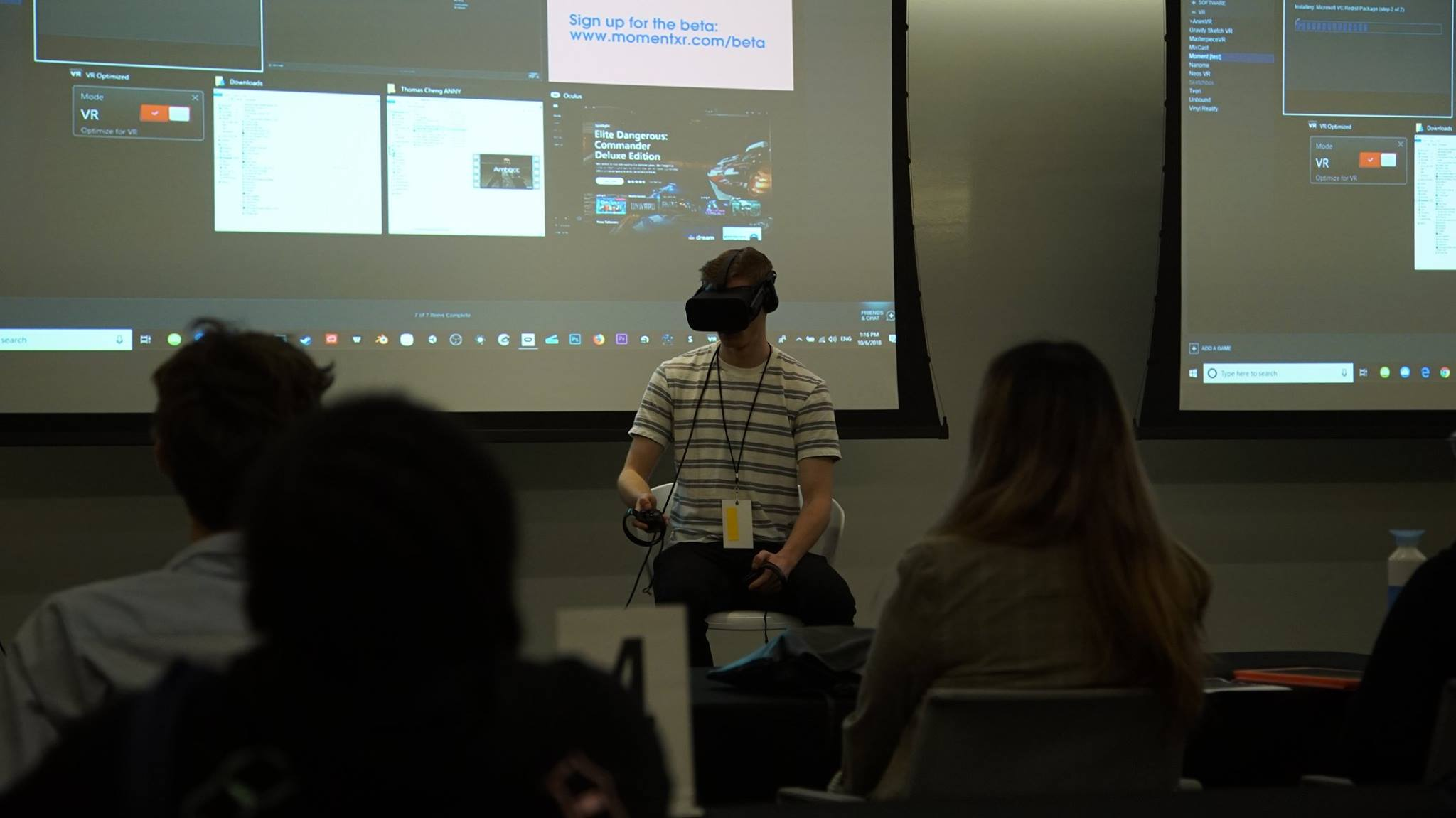 a6155fc8e56e VR Workshop Presentations at the 2018 ANNY Best of Fest (photo credit  ANNY  Team)